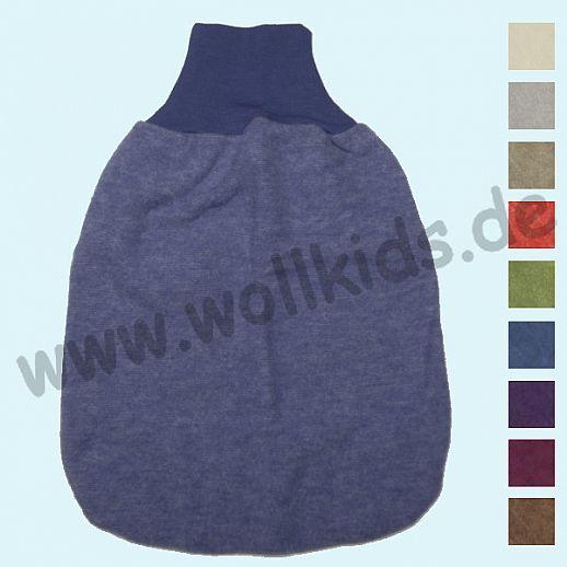 NEU: COSILANA Wollfleece - Strampelsack Pucksack Schlafsack - kbT Schurwolle BIO Baumwolle