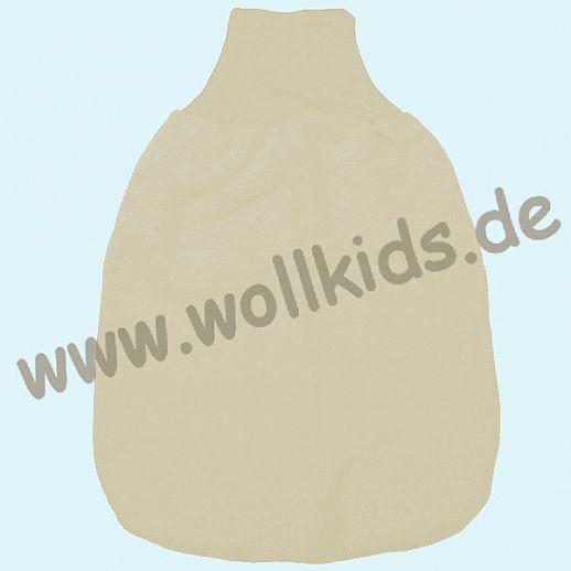 COSILANA Wollfleece - Strampelsack Pucksack Schlafsack - 100% Schurwolle (kbT) BIO