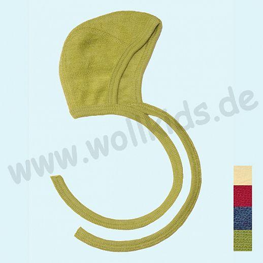 COSILANA Wollfrottee - Häubchen - viele Farben, kbt Schurwolle