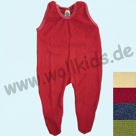 COSILANA: Wollfrottee - Strampler - viele Farben, kbt Schurwolle