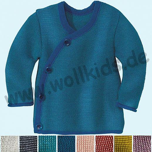 DISANA - Melange - Jacke - 100% Merino Wolle GOTS Babyjacke
