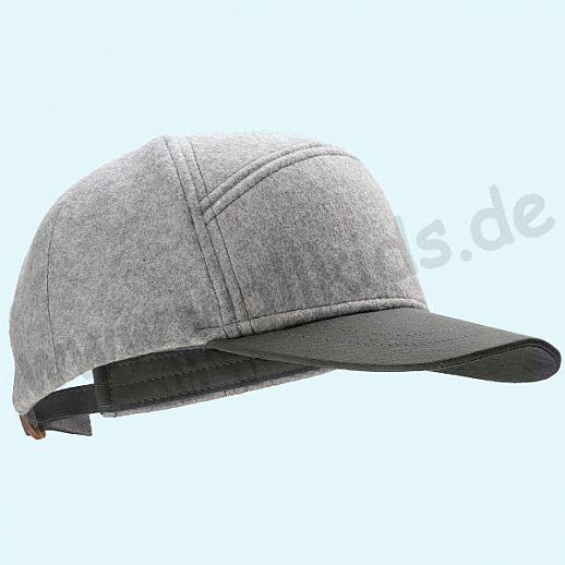 NEU: DISANA Super coole Baseball Cap MARK - Cappy - Baseball-Mütze - grau anthrazit