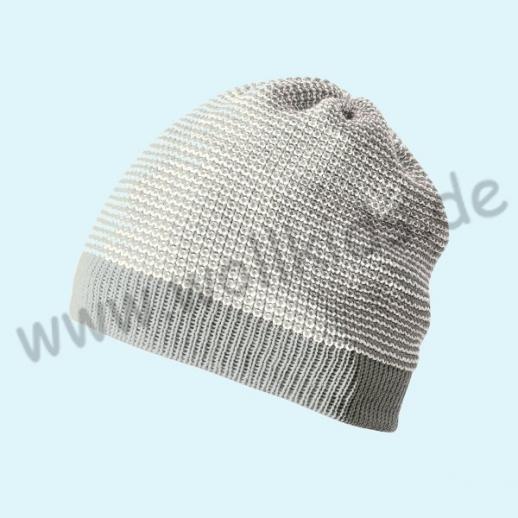 NEUE FARBEN: Disana - Beanie Mütze - Strickmütze Melange - 9 Farben - 100% kbT-Schurwolle