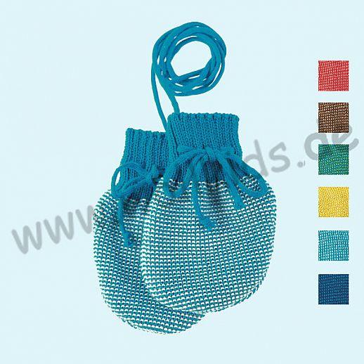 SALE: Disana Strick - Handschuhe - weiche kbT Merino-Wolle für die Kleinsten