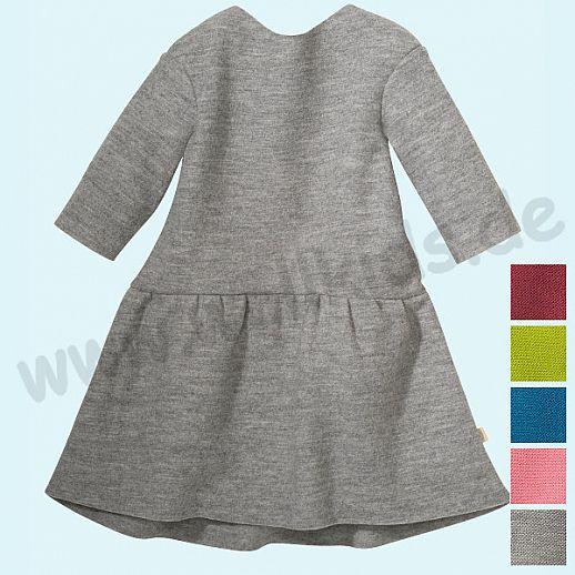 NEU DISANA Sommer Walk Kleid - kbT Schurwolle - Kleid Walkkleid GOTS ORGANIC - leichter Sommerwalk