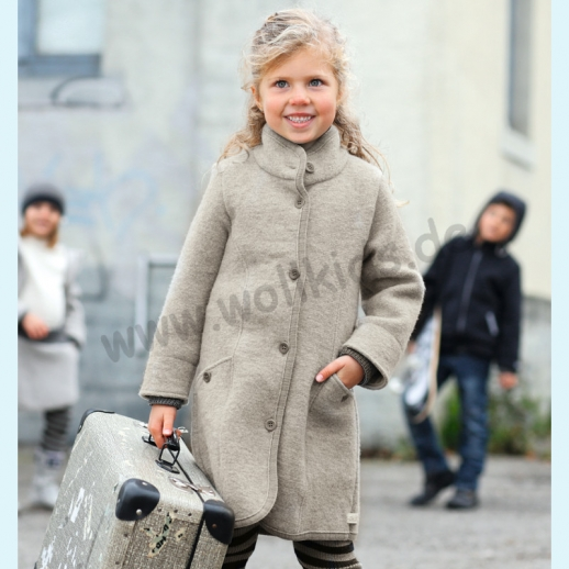 Disana Mantel Jacke Walk Jacke - kbT Schurwolle - Wintermantel GOTS BIO