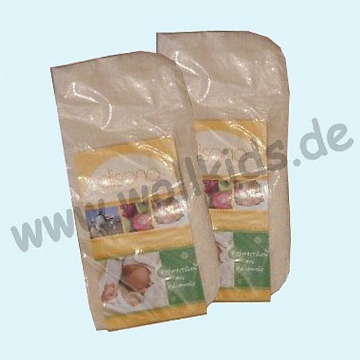 Disana 3x Mullwaschlappen - kbA Baumwolle - saugstark und sanft zur Haut - 25cm x 30cm