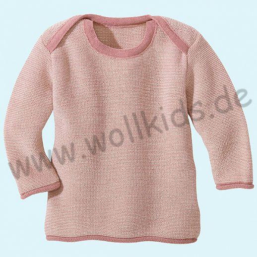 DISANA - Melange - Pullover - 100% kbT-Schurwolle GOTS Babypulli ... 03811dedff