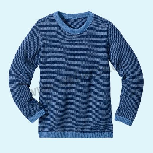 Disana - Pullover - Kinder Strickpullover Pullover Pulli Melange - 5 Farben - 100% kbT-Schurwolle