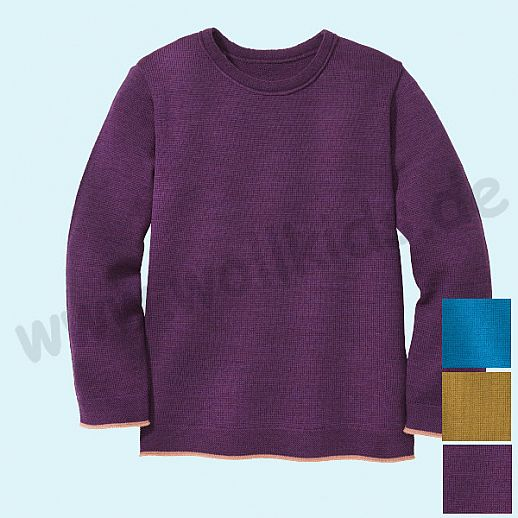 SALE: DISANA - Pullover - Kinder Strickpullover Pullover Pulli uni - Merino Wolle
