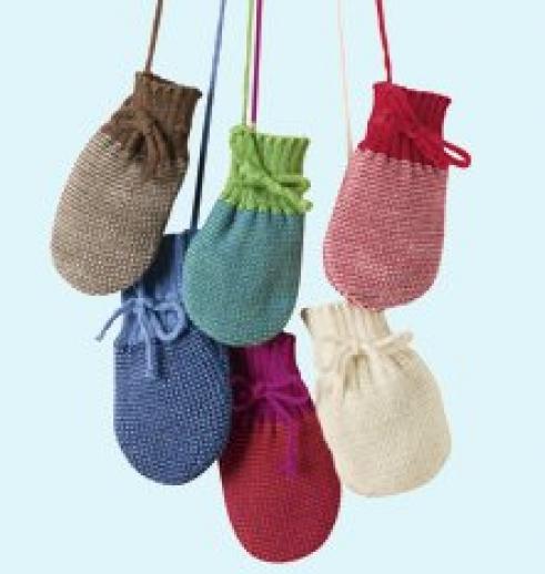 Disana Strick - Handschuhe - weiche kbT Merino-Wolle für die Kleinsten