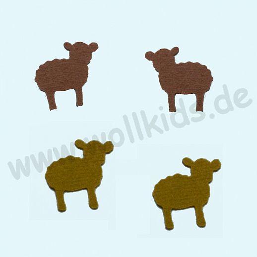 Disana Walk Applikation aus Original Disana Walk - zur Deko oder Reparatur - Schaf