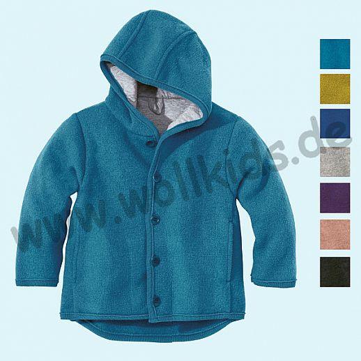 NEUE Farben: Disana Walkjacke Jacke kbT Schurwolle - Winterjacke