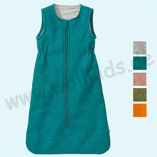 Neue Farben: DISANA Walk - Schlafsack kbT Schurwolle Merinowolle BIO