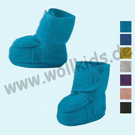 NEUE Farben: Disana Walkpuschen Walkschuhe Schuhe GOTS