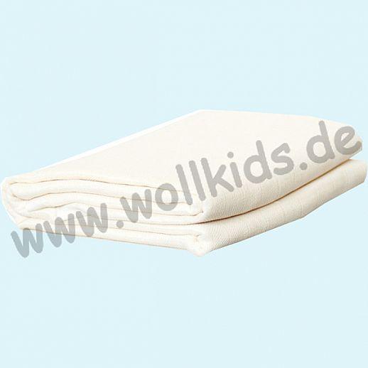 Disana: Wasserdichte Betteinlage - 70cm x 90cm - kbA Baumwolle mit Polyurethaneinlage