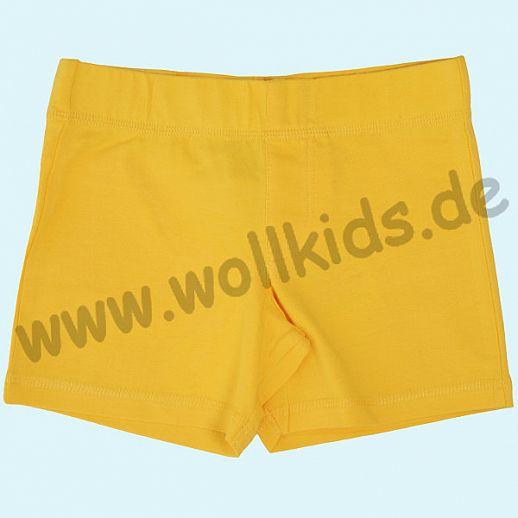 DUNS: BIO-Baumwolle GOTS - Berumda - Shorts - Hose - gelb - GOTS ORGANIC