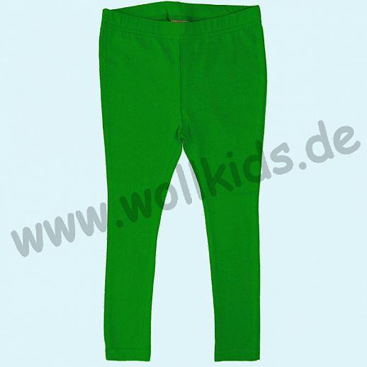 DUNS: BIO-Baumwolle GOTS - Leggin - Hose - gras grün - GOTS ORGANIC