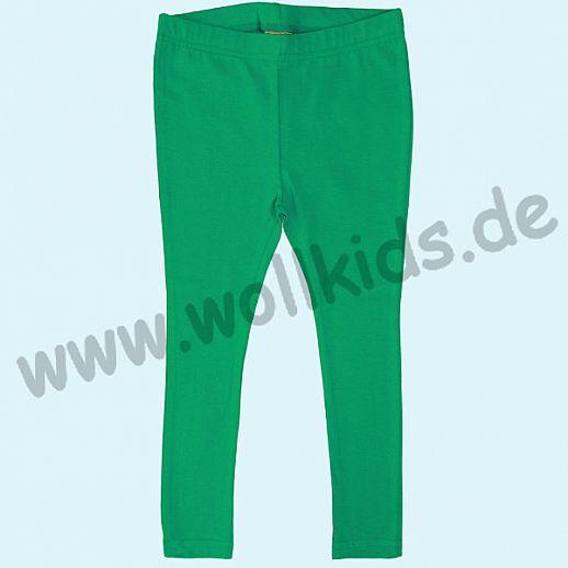 DUNS: BIO-Baumwolle GOTS - Leggin - Hose - smaragd grün - GOTS ORGANIC