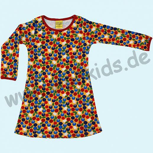 DUNS Sweden: BIO-Baumwolle GOTS - süßes Kleid mit Blueberry orange - Blaubeeren ORGANIC
