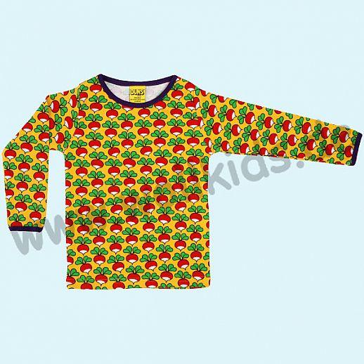 DUNS Sweden: BIO-Baumwolle GOTS Long Sleeve - Langarm Shirt ORGANIC Radieschen curry