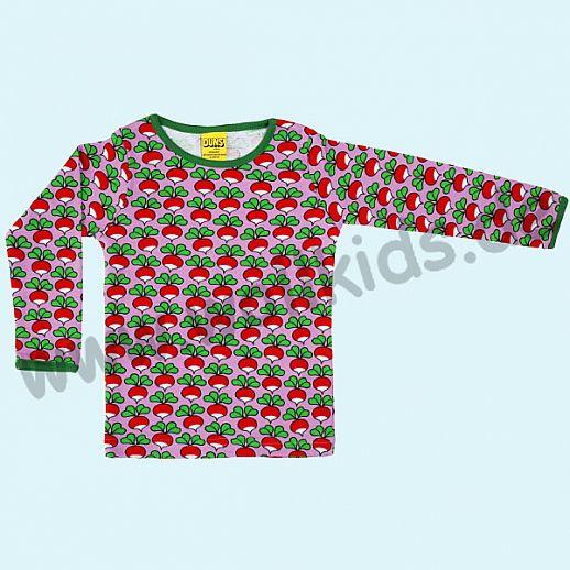 DUNS Sweden: BIO-Baumwolle GOTS Long Sleeve - Langarm Shirt ORGANIC Radieschen rosa