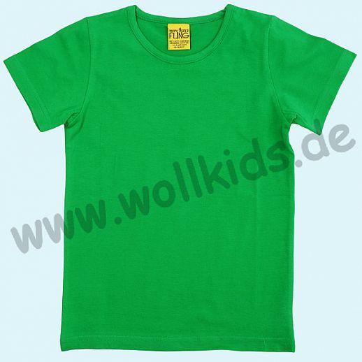 DUNS Sweden: BIO-Baumwolle GOTS Short Sleeve - Kurzarm Shirt ORGANIC grün
