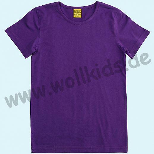 DUNS Sweden: BIO-Baumwolle GOTS Short Sleeve - Kurzarm Shirt ORGANIC purple lila