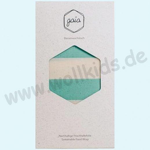 GAIA - Das plastikfreie Bienewachstuch aus natürlichen Rohstoffen - Size: XL - mint-natur