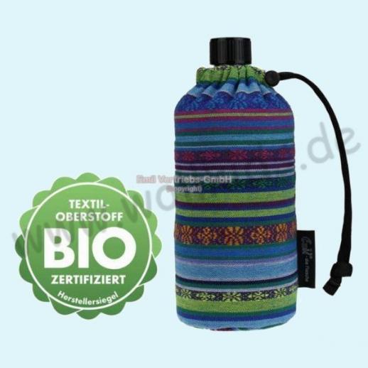 Emil die Flasche - Aztek BIO - 0,4l oder 0,6l BIO BAUMWOLLE ORGANIC