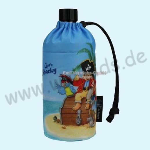Emil die Flasche - Capt'n Sharky© Glasflasche