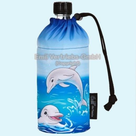 Emil die Flasche - Hits4Kids - Delfine Trinkflasche Weichmacherfrei - Bisphenol-A FREI