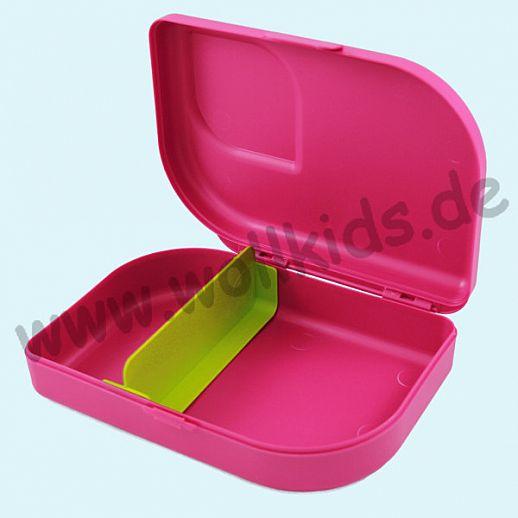 NANA Plastikfreie Brotdose Brotbox aus nachwachsenden Rohstoffen pink