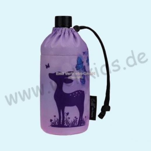 Emil die Flasche - Rehe Schmettrlinge Glasflasche