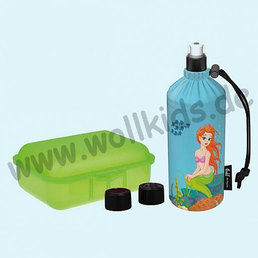 Geschenkset: Emil die Flasche - Meerjungfrau 0,4l