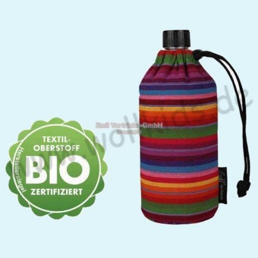 Emil die Flasche - Streifen BIO - 0,3l oder 0,4l oder 0,6l BIO BAUMWOLLE ORGANIC