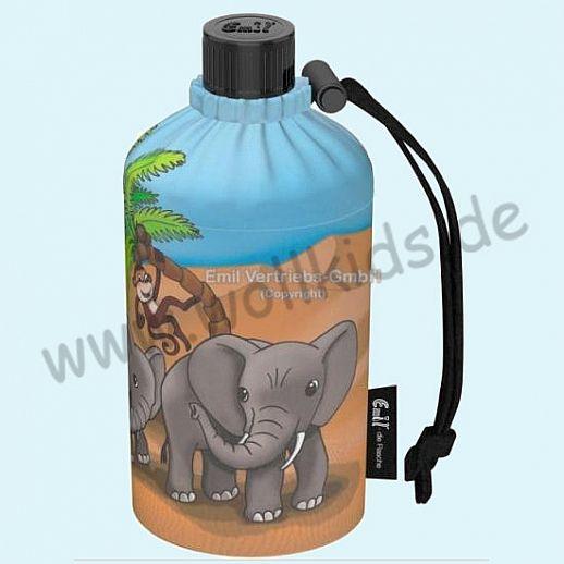 NEU: Emil die Flasche - Oase Elefanten-Familie 0,3l oval oder 0,4l oder 0,4l Weithals