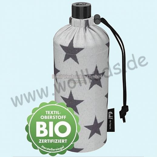 Emil die Flasche - Sterne BIO - 0,4l oder 0,6l BIO BAUMWOLLE ORGANIC