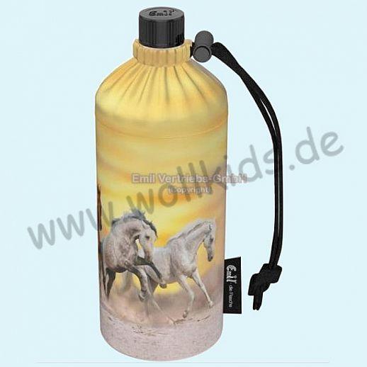 NEU: Emil die Flasche - Wildpferde gelb Pferde