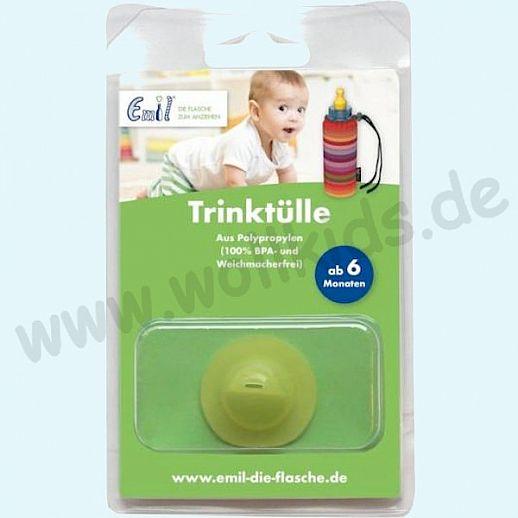 EMIL Baby - Trinkaufsatz - Trinktülle ab 6 Monate - Gesund & Nachhaltig - Glasflasche