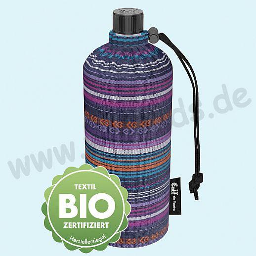 Emil die Flasche - Viola BIO - 0,3l oder 0,4l oder 0,6l BIO BAUMWOLLE ORGANIC
