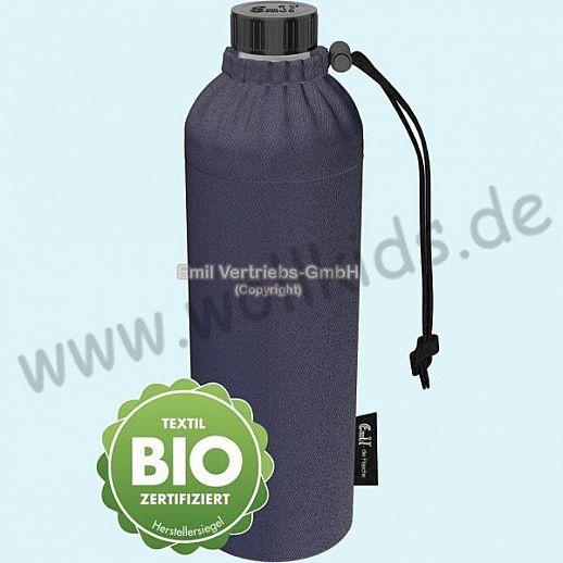 Emil die Flasche - WEITHALS Trinkflasche 0,75l BIO Jeans