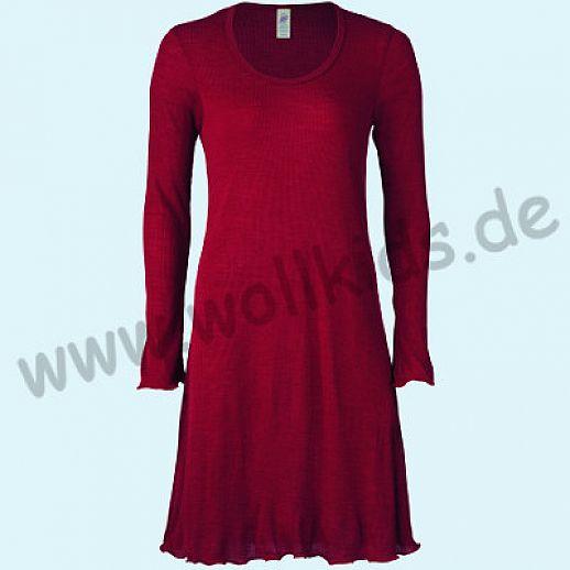 ENGEL: Engel Damen Nachthemd WS malve Wolle Seide BIO