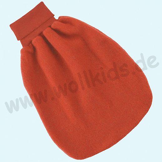 Engel Wollfleece Strampelsack Pucksack kbT Merino-Wolle Merinowolle Fleece hibiskus
