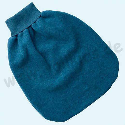 Engel Wollfleece Strampelsack Pucksack kbT Merino-Wolle Merinowolle Fleece ocean