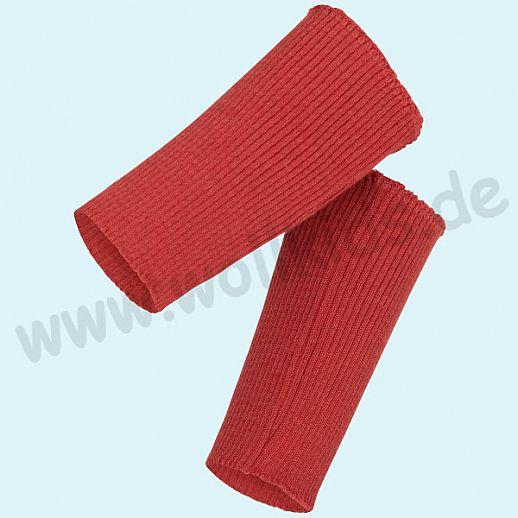 NEU: Engel Pulswärmer rot kbT Wolle - warme Hände, one size