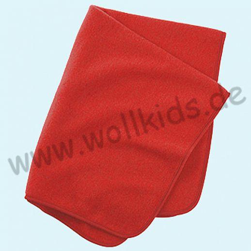 Engel Wollfleece Decke kbT Merino-Wolle Merinowolle Fleece hibiscus