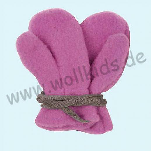 NEU in 3 Größen! PURE PURE by Bauer: Richtig warme weiche Wollfleece Handschuhe Fäustlinge beere