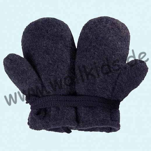 NEU in 3 Größen! PURE PURE by Bauer: Richtig warme weiche Wollfleece Handschuhe Fäustlinge jeans