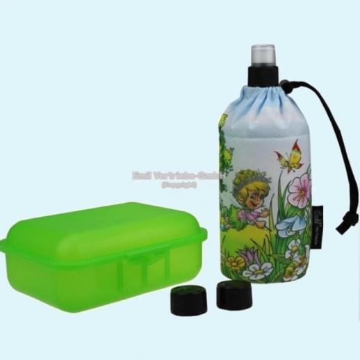 Geschenkset: Emil die Flasche - Elfe mit Zauberstab - Neues Design